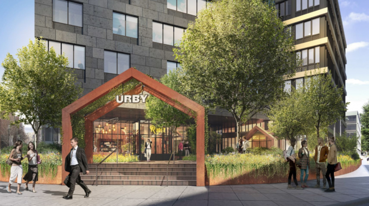 Tour of URBY Apartments and Networking Social